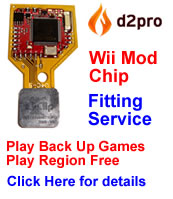 Nintendo Wii Mod Chip Fitting